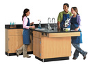 Diversified Woodcrafts 2826K Perimeter Workstation