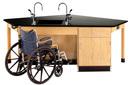 Diversified Woodcrafts 2956KF-L-ADA Forward Vision Ada