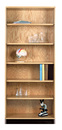 Diversified Woodcrafts 301-2422 Storage Bookcase
