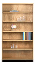 Diversified Woodcrafts 301-4822 Storage Bookcase