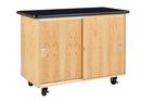 Diversified Woodcrafts 4111KF Mobile Lab(Econ) 48.00 x 24 x 36