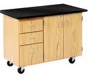 Diversified Woodcrafts 4332KF Mobile Instructor'S Desk