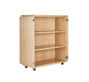 Diversified Woodcrafts 4711M Microscope Storage Cabinet, 54