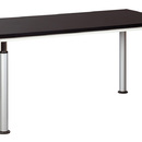 Diversified Woodcrafts ALT-6030BL Adjustable Leg Table With/Black.Lam. Top