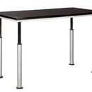 Diversified Woodcrafts ALT-6042BL Adaptable Table 60x42 Black (Quick Ship)