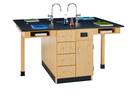 Diversified Woodcrafts C2416K 4 Student Center W/Fi x  66 x 48