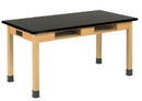 Diversified Woodcrafts C7102K34E Compartment Table