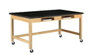 Diversified Woodcrafts C7104K30SC Compartment Table