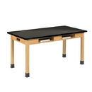 Diversified Woodcrafts C7104K34E Compartment Table