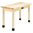 Diversified Woodcrafts C7105M30E Compartment Table