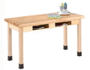 Diversified Woodcrafts C7105M36N Compartment Table