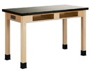 Diversified Woodcrafts C7106M30E Compartment Table