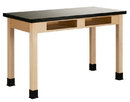 Diversified Woodcrafts C7106M34N Compartment Table