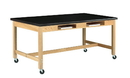 Diversified Woodcrafts C7134K30SC Compartment Table