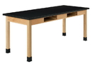 Diversified Woodcrafts C7154K34N Compartment Table