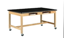 Diversified Woodcrafts C7154K36SC Compartment Table