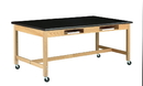 Diversified Woodcrafts C7242K30SC Compartment Table