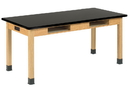 Diversified Woodcrafts C7301K30E Compartment Table