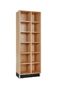 Diversified Woodcrafts CC-2415-72K Cubby Cabinet