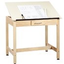 Diversified Woodcrafts DT-2A30 Art/Drafting Table - 36x24x30 (Quick Ship)