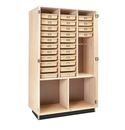 Diversified Woodcrafts DTC-5 Art Supply Cabinet