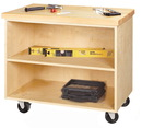 Diversified Woodcrafts MDC-2436M Mobile Demonstration Cabinet