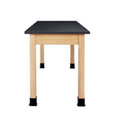 Diversified Woodcrafts P7101K30N-ADA Plain Apron Table