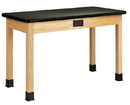 Diversified Woodcrafts P7101K34E Plain Apron Table