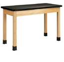 Diversified Woodcrafts P7101K34N Plain Apron Table