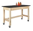 Diversified Woodcrafts P7101M34SC Plain Apron Table