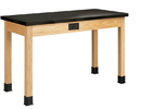 Diversified Woodcrafts P7102K30E Plain Apron Table