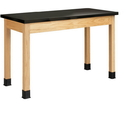 Diversified Woodcrafts P7102K34N Plain Apron Table