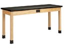 Diversified Woodcrafts P7102K36E Plain Apron Table