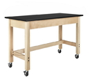Diversified Woodcrafts P7102M34SC Plain Apron Table