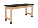 Diversified Woodcrafts P7104K30L Plain Apron Table