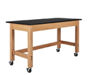 Diversified Woodcrafts P7104K30SC Plain Apron Table