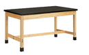 Diversified Woodcrafts P7104K30S Plain Apron Table
