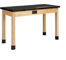 Diversified Woodcrafts P7104K34E Plain Apron Table