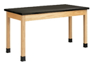 Diversified Woodcrafts P7146K36N Plain Apron Table, 30