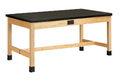 Diversified Woodcrafts P7162K34SE Plain Apron Table