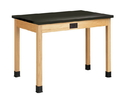 Diversified Woodcrafts P7194K36E Plain Apron Table
