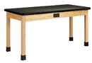 Diversified Woodcrafts P7201K30E Plain Apron Table