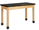 Diversified Woodcrafts P7204K34N Plain Apron Table