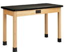 Diversified Woodcrafts P7221K36E Plain Apron Table