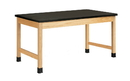Diversified Woodcrafts P7222K30L Plain Apron Table