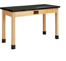 Diversified Woodcrafts P7224K34E Plain Apron Table