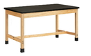 Diversified Woodcrafts P7232K36S Plain Apron Table