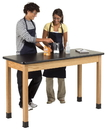 Diversified Woodcrafts P7601K36N Plain Apron Table, 24