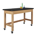 Diversified Woodcrafts P7602K34SC Plain Apron Table