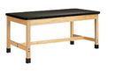 Diversified Woodcrafts P7801K30S Plain Apron Table